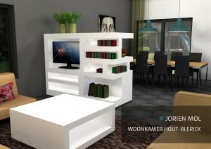 Woonkamer Hout Blerick Jorien Mol Interieurarchitect